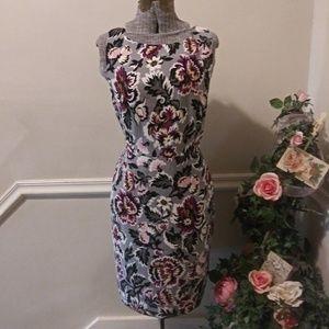 NWT Ann Taylor Factory Floral Sheath Dress